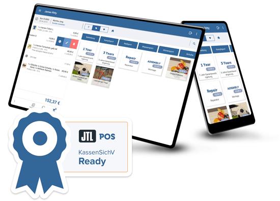 JTL-POS: Startbereit für die Kassensicherungsverordnung