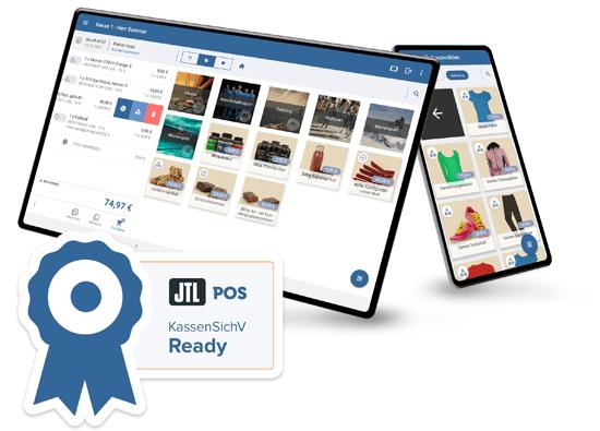 Kunden Bildschirm JTL-POS - Customer Display
